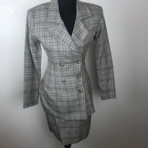 Wrapper 2 piece shirt suit